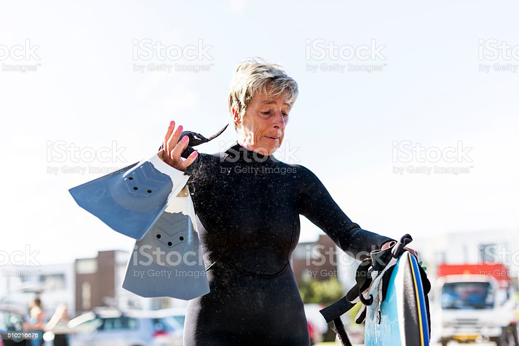 All This Surfing Equipment stock photo