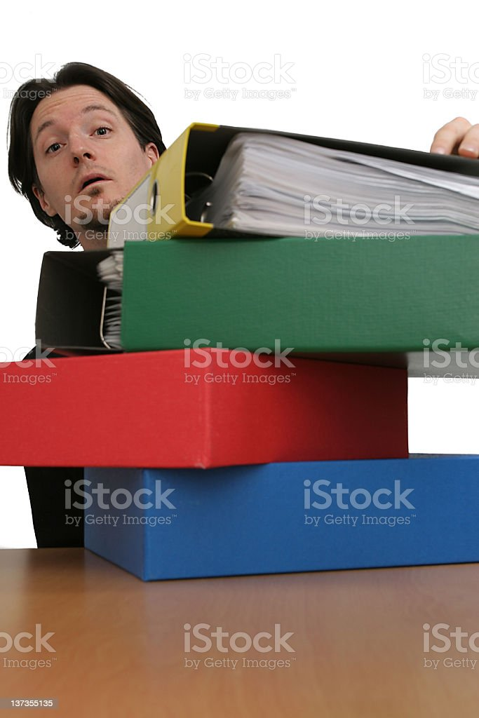 All those papers.... royalty-free stock photo