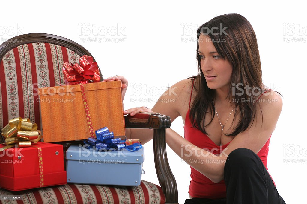 All those presents.... royalty-free stock photo