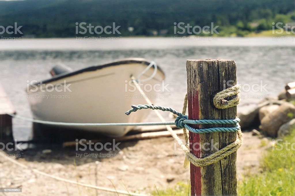 All tied up royalty-free stock photo