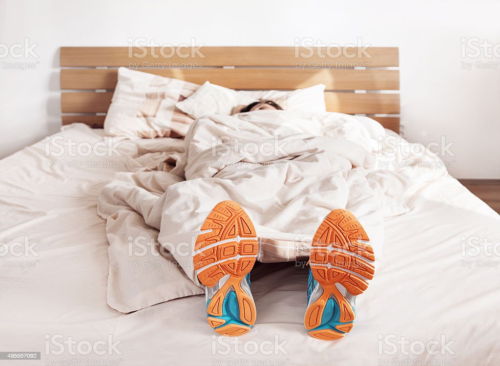 All time ready to run stock photo