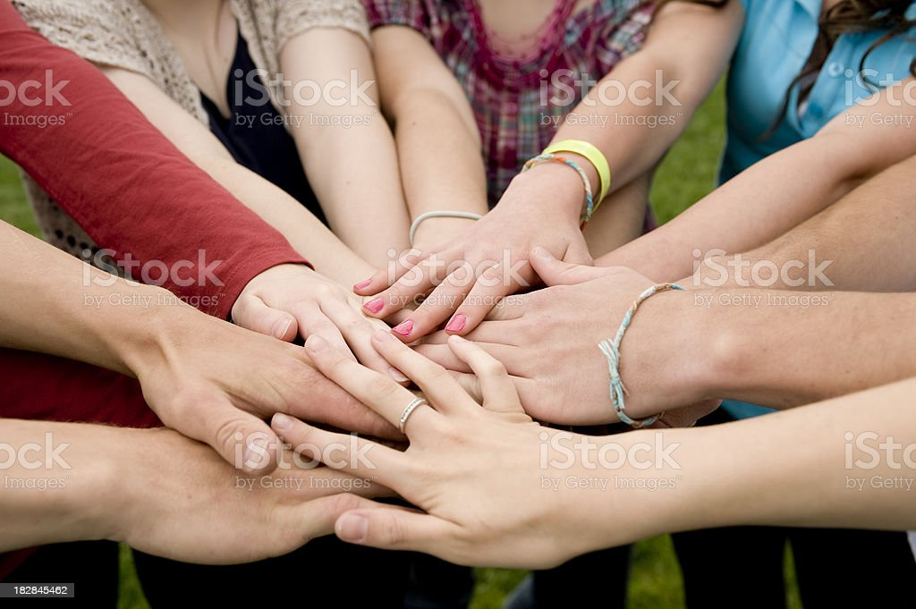 All together royalty-free stock photo