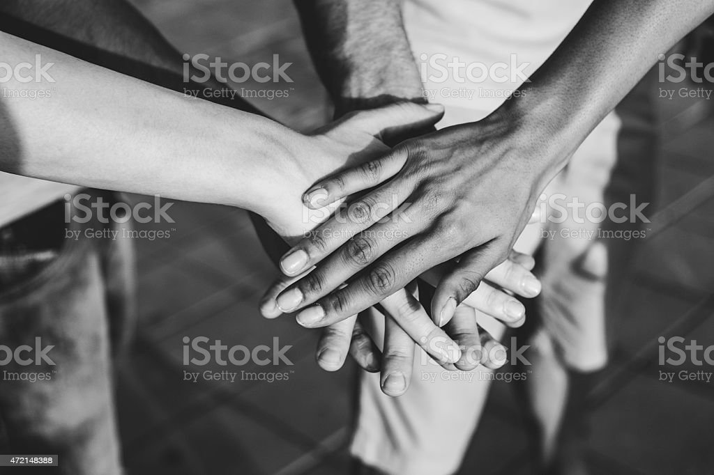 All together stock photo