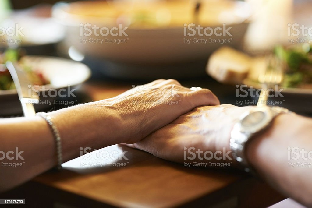 All we need is each other stock photo