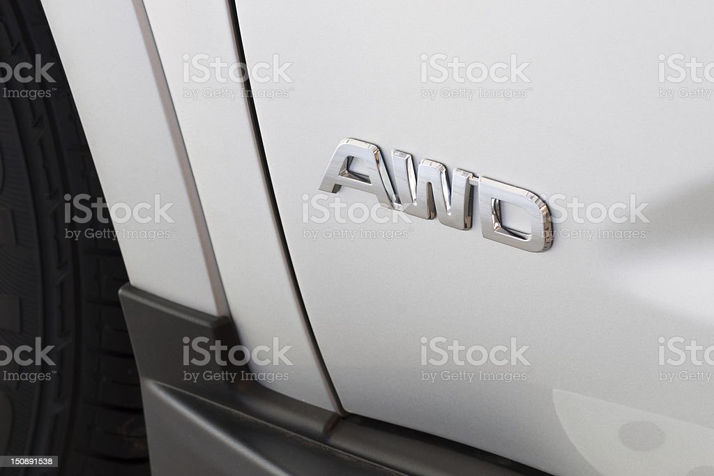 All Wheel Drive stock photo