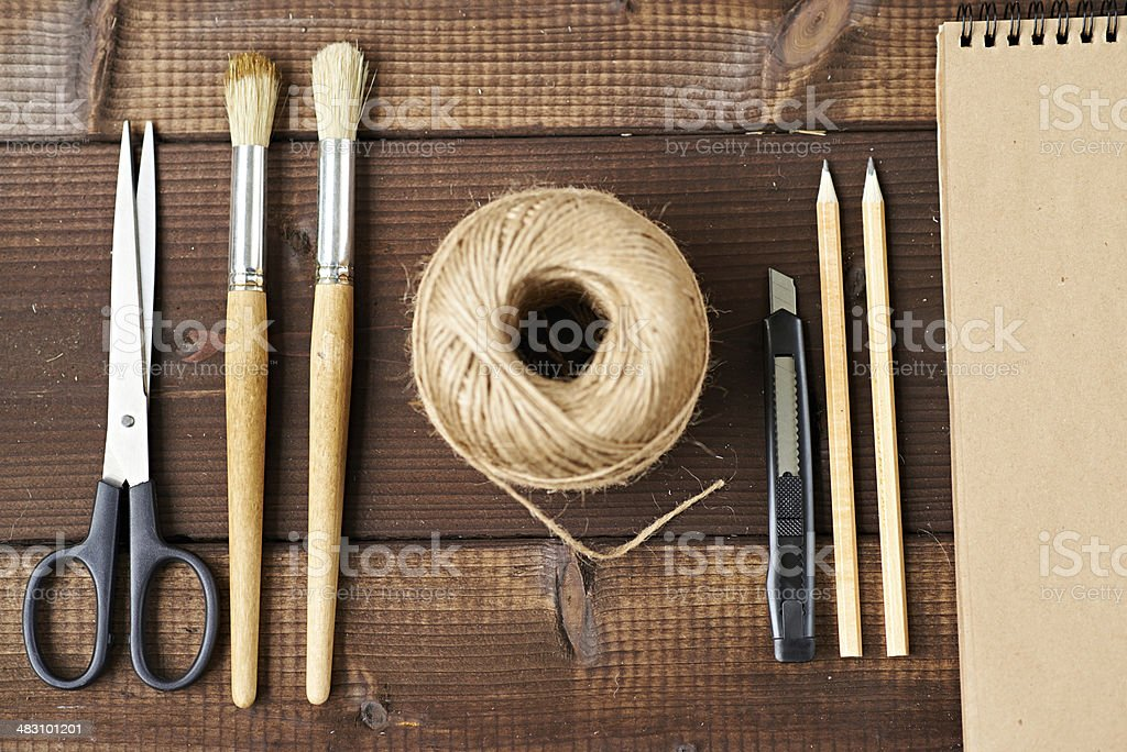 All you need for craft stock photo