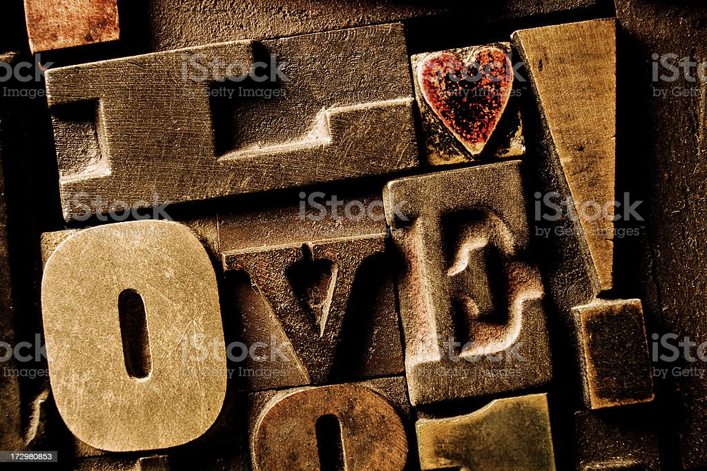 All You Need Is Love royalty-free stock photo