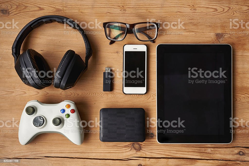 All you need on a day off stock photo