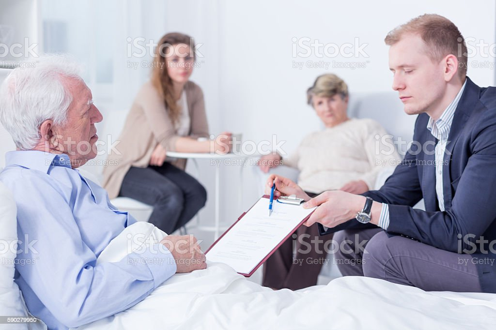All you need to do is signing here stock photo