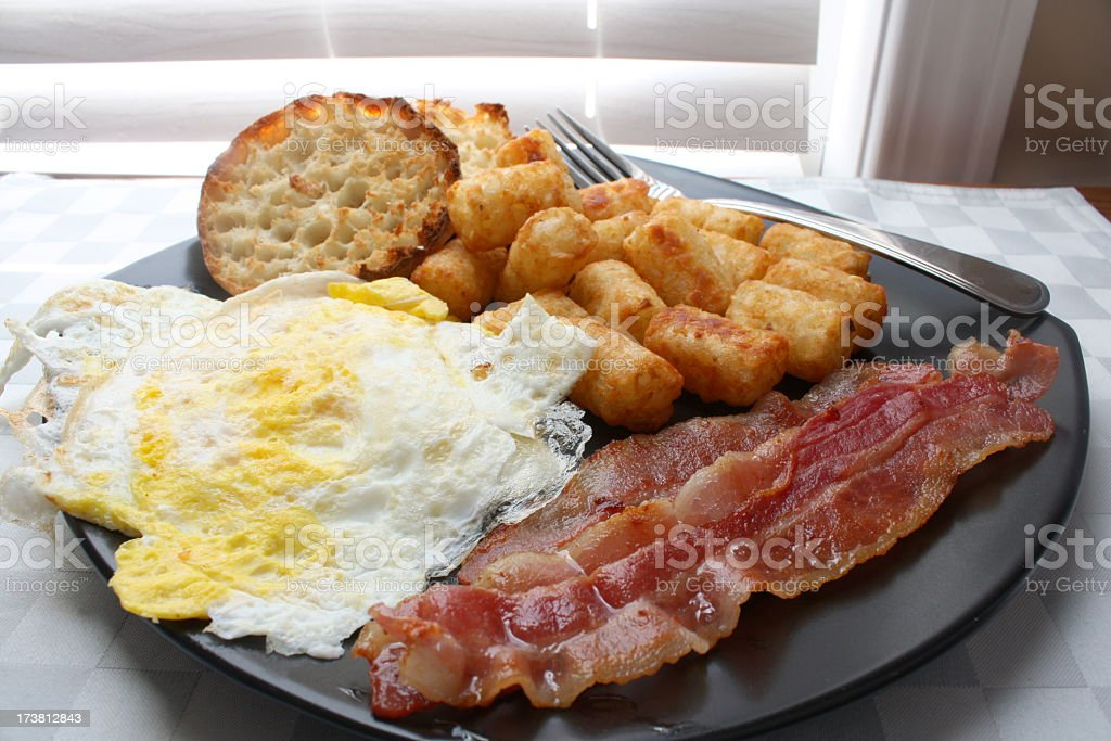 All-American Breakfast royalty-free stock photo