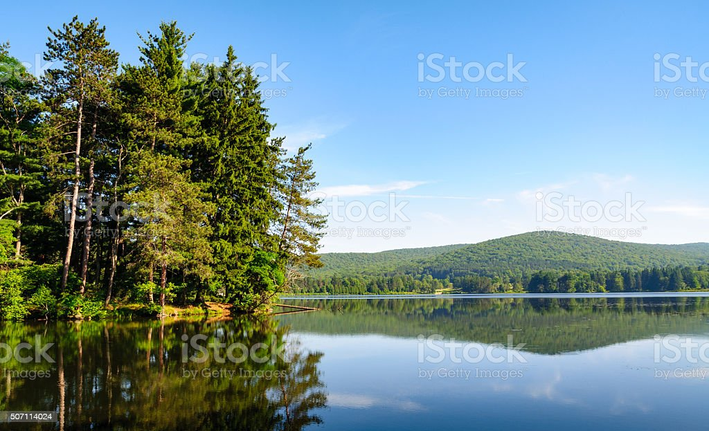 Allegany State Park stock photo
