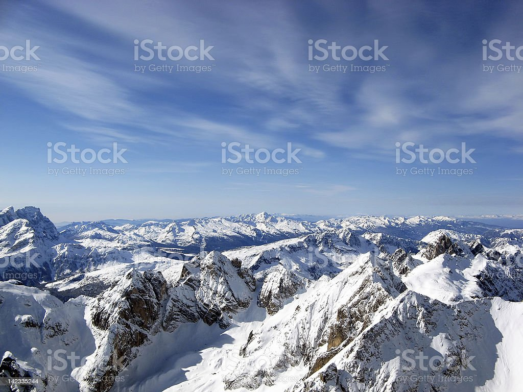 alleghe royalty-free stock photo