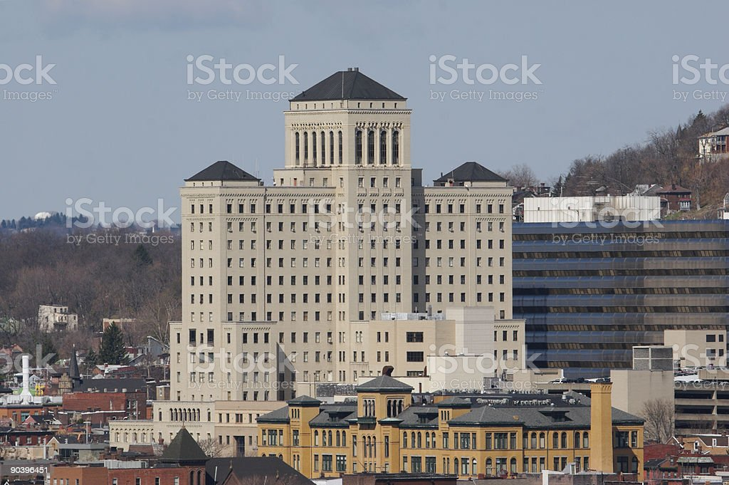 Allegheny General Hospital royalty-free stock photo