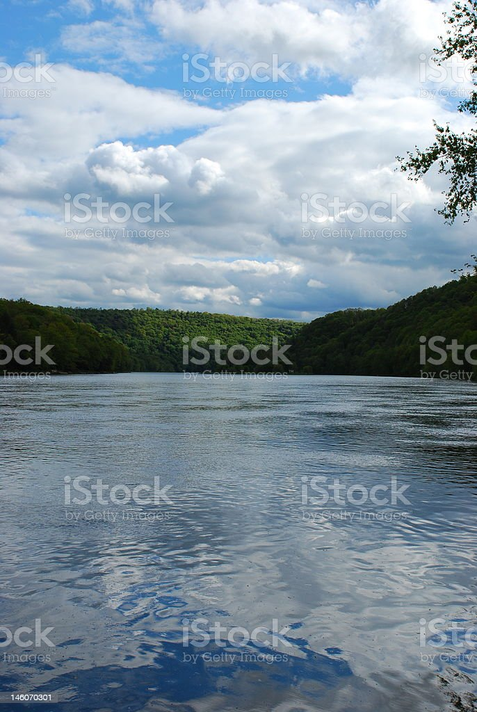 Allegheny River stock photo
