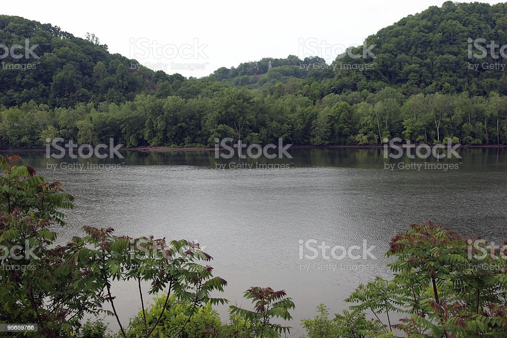 Allegheny Spring royalty-free stock photo