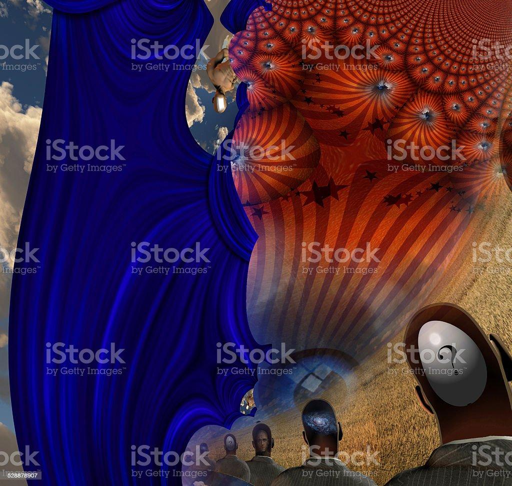 Allegory stock photo