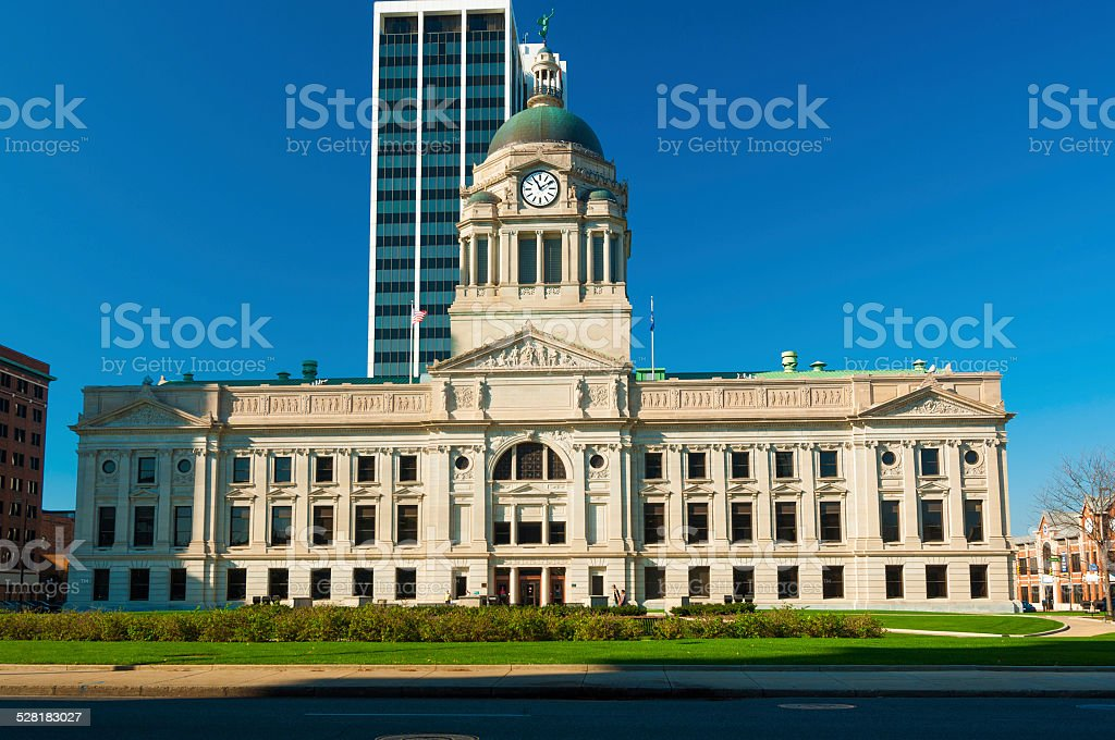 Allen County Courthouse stock photo