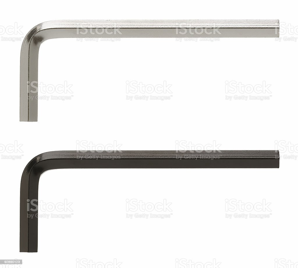Allen Wrench royalty-free stock photo
