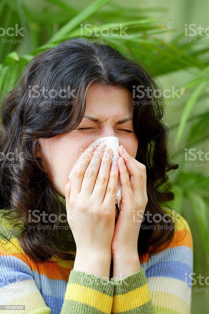 Allergy, Cold, Flu stock photo