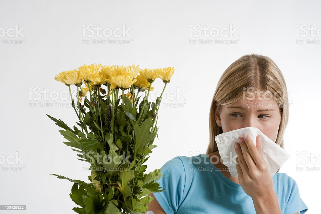 Allergy royalty-free stock photo