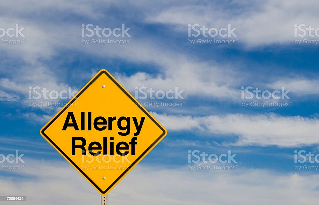 Allergy Relief stock photo