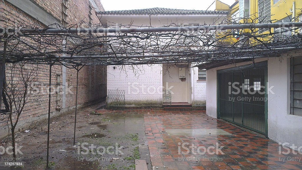 alley house royalty-free stock photo