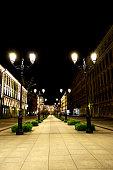 Alley in St. Petersburg