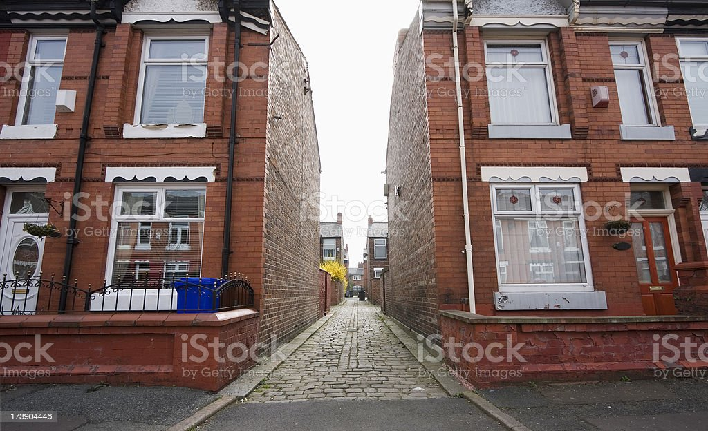 Alley / passageway royalty-free stock photo