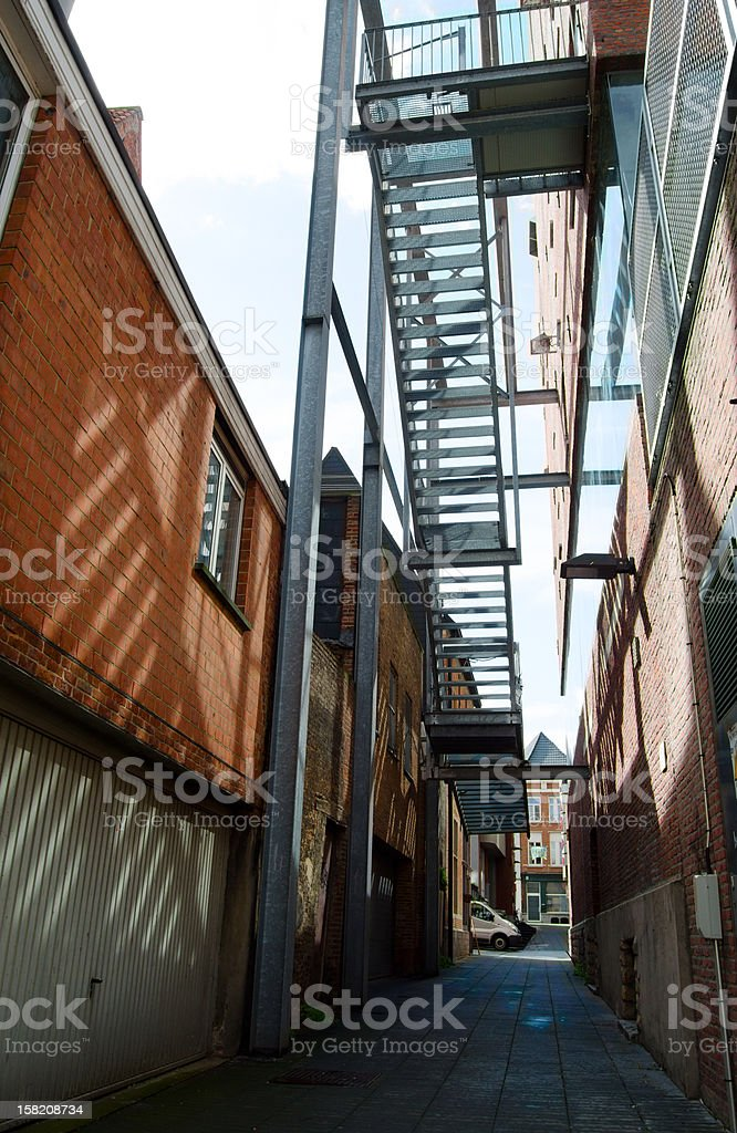 Alley. royalty-free stock photo