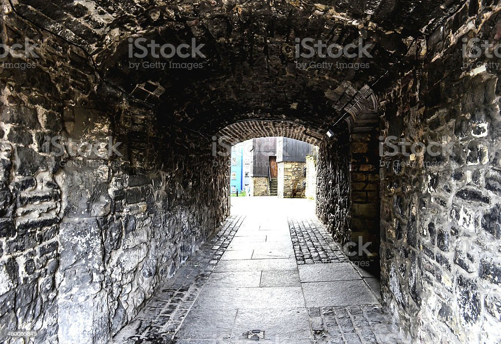 Alley stock photo