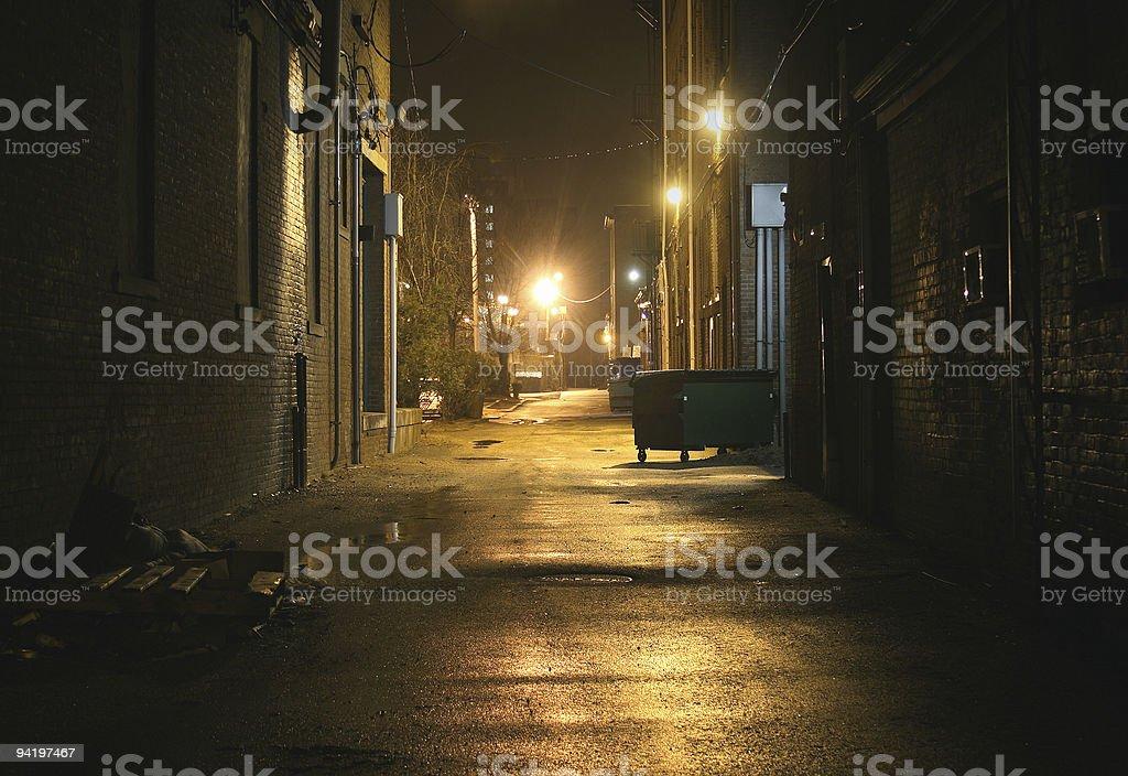 Alley stock photo