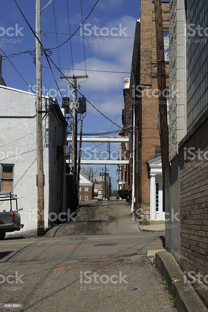 Alley Way royalty-free stock photo