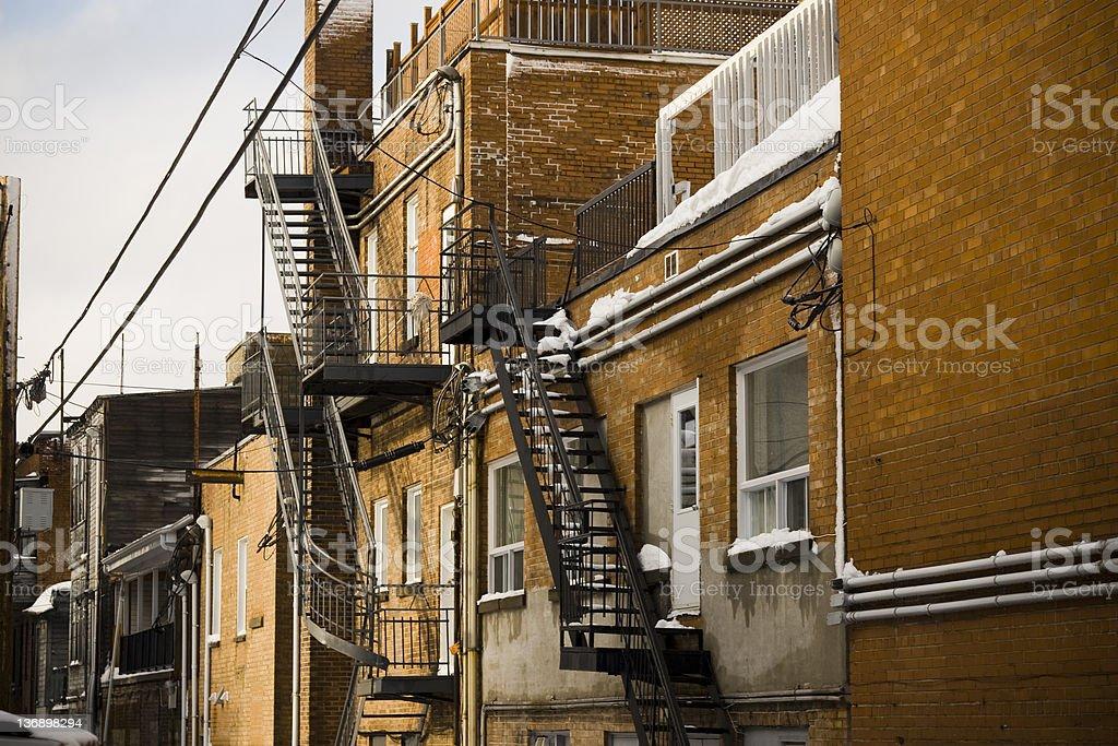 Alleyway stock photo