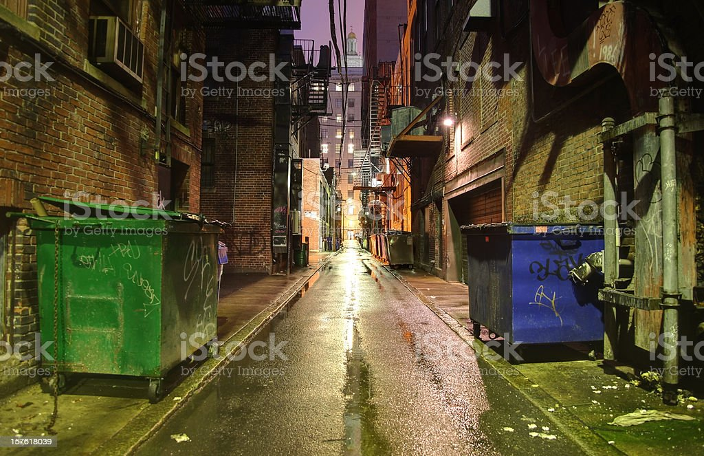 Alleyway royalty-free stock photo