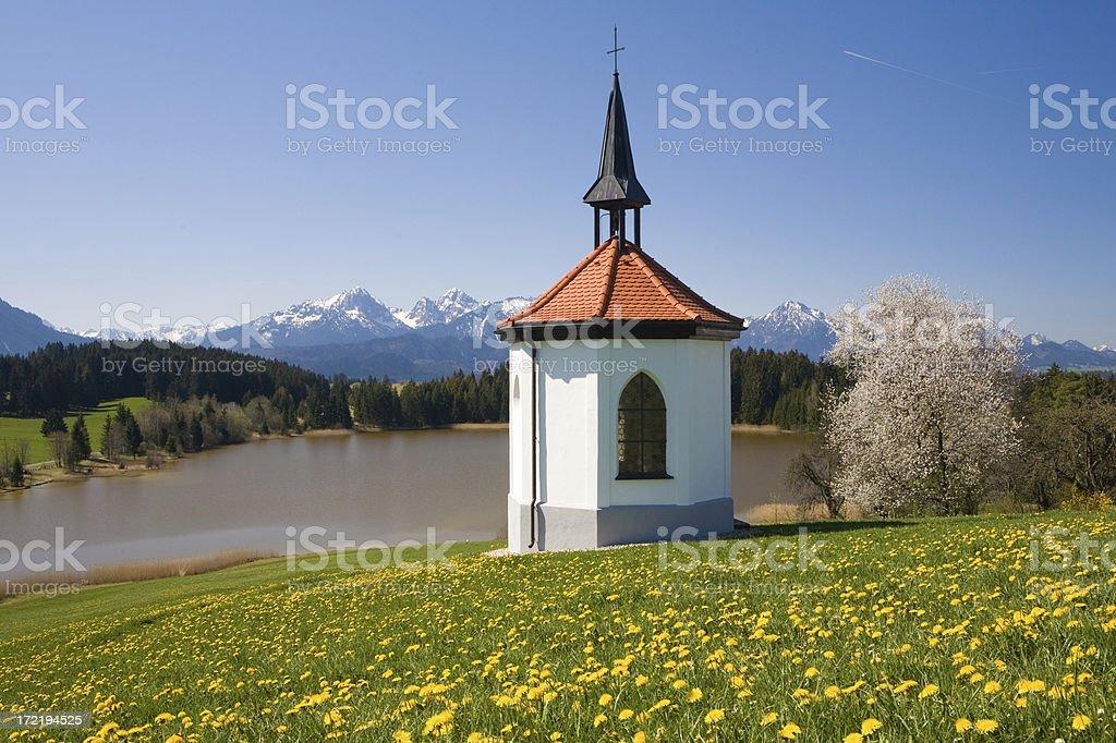 allgaeu chapel II royalty-free stock photo