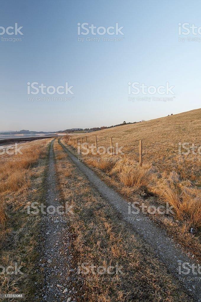 allgaeu farmland 3 royalty-free stock photo