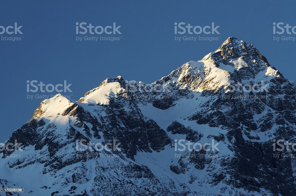 allgaeuer alps royalty-free stock photo