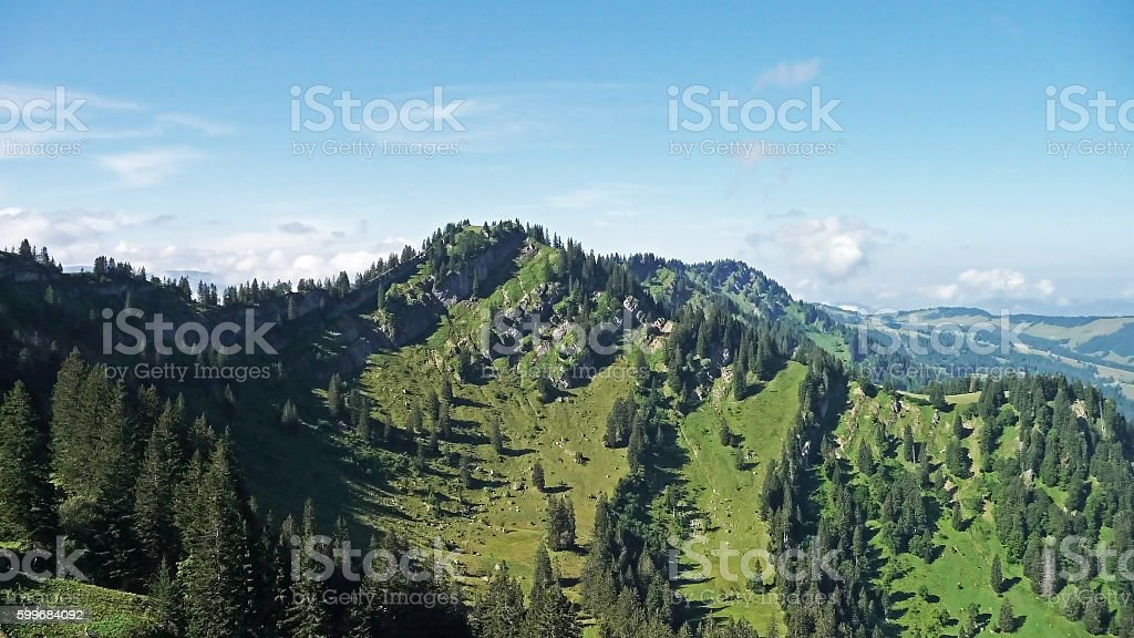 Allgaeuer Alpen - Seelekopf stock photo