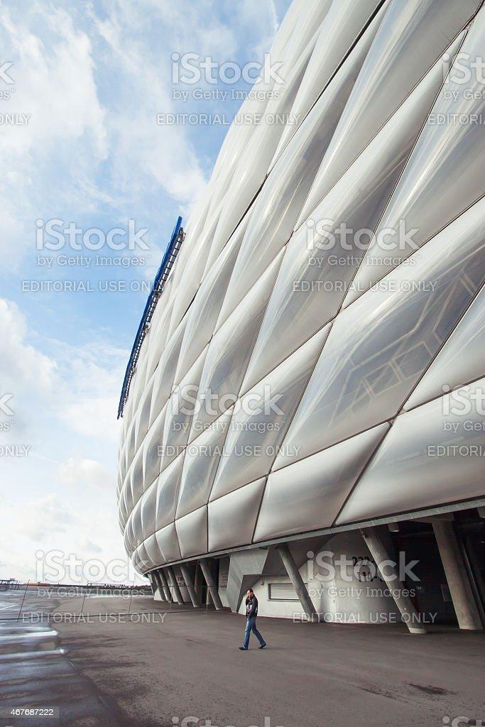 Allianz Arena, Munich, Bavaria, Germany stock photo