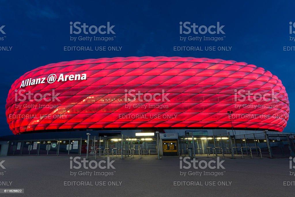 Allianz Arena - Munich - Germany stock photo