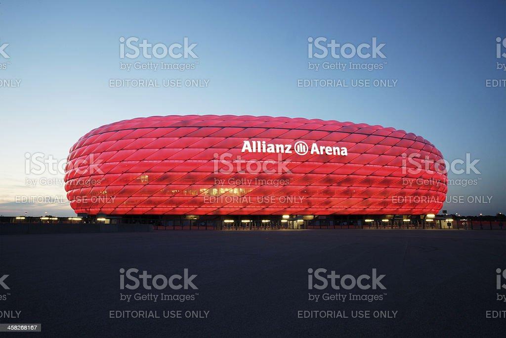 Allianz Arena royalty-free stock photo