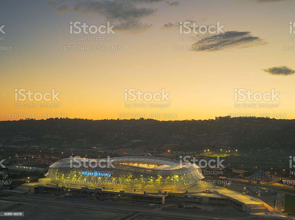 Allianz Riviera,Nice,france stock photo