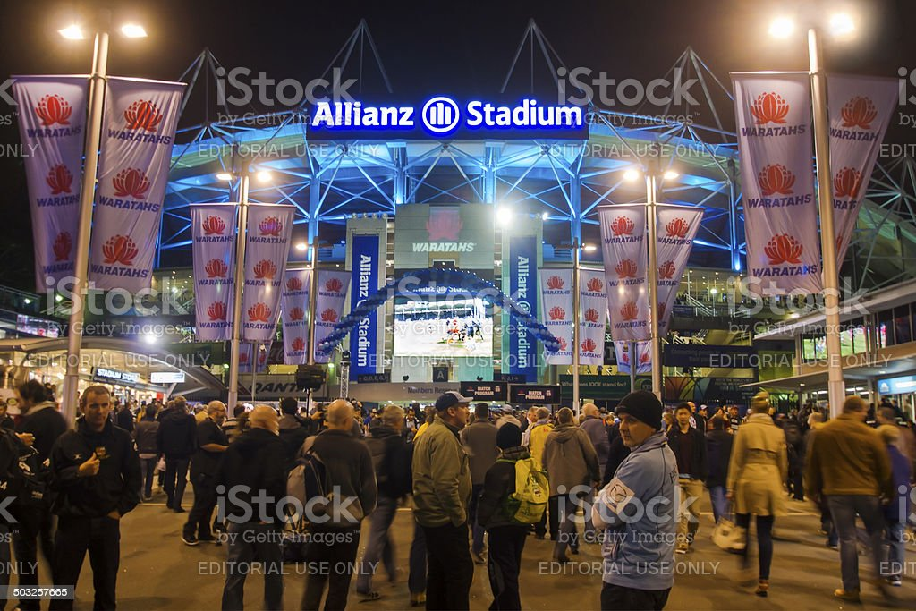 Allianz Stadium stock photo