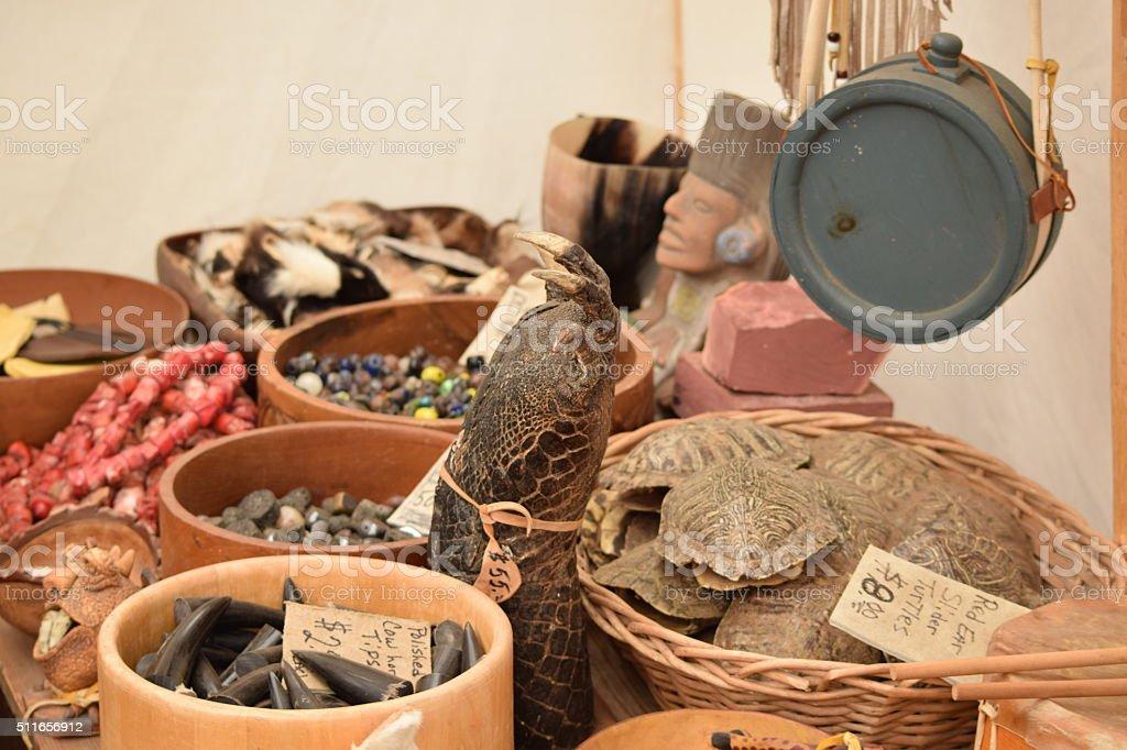 Alligator Leg, Teeth, Claws, Turtle Shells, stock photo
