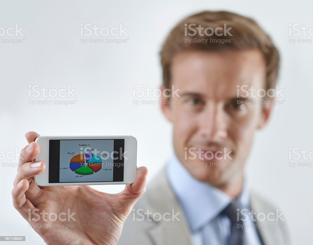 Allow me to show you... royalty-free stock photo