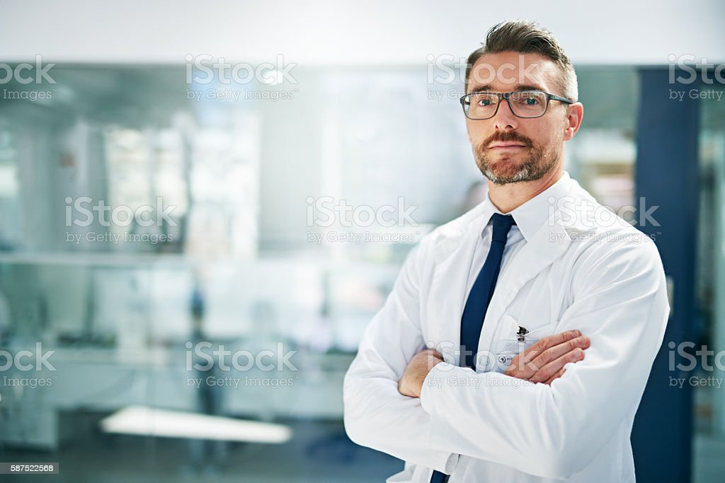 Allow me to take care of your health issues stock photo