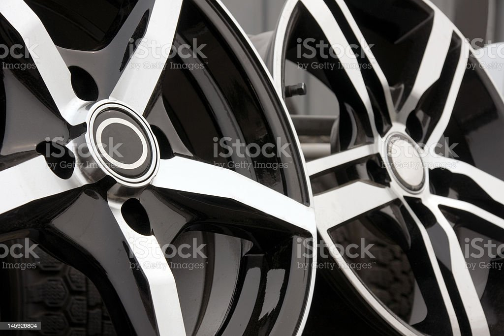 alloy for car stock photo