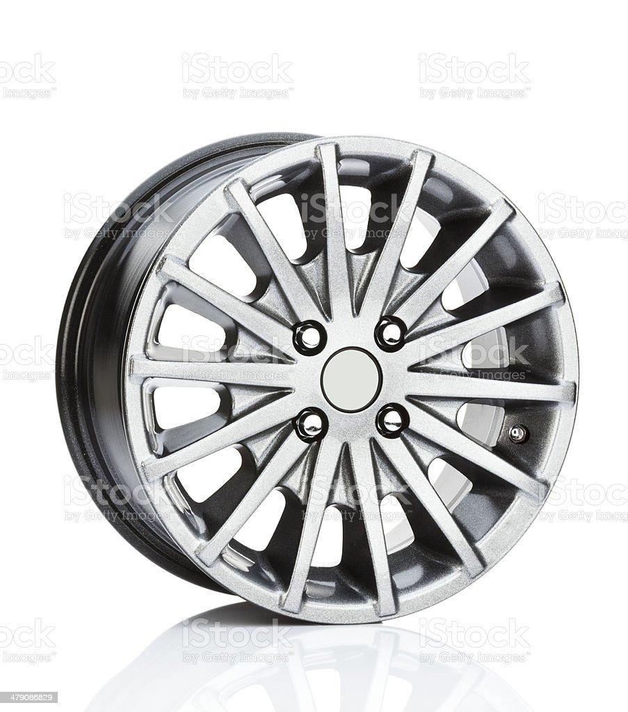Alloy Wheel stock photo