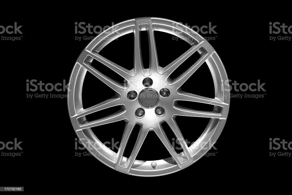 Alloy wheel series royalty-free stock photo