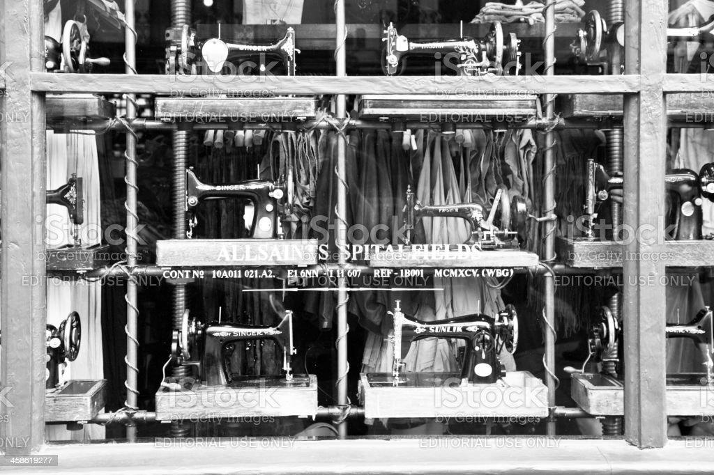 'AllSaints Spitalfields Store on Portobello Road, Notting Hill' stock photo